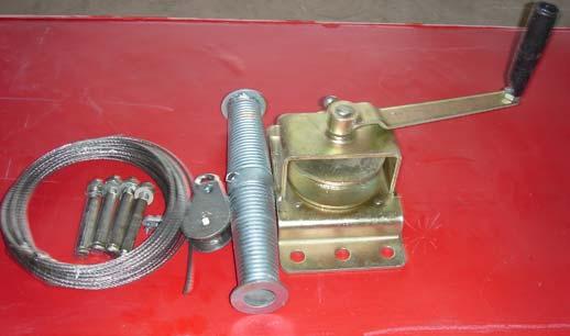 卷帘机(钢板)